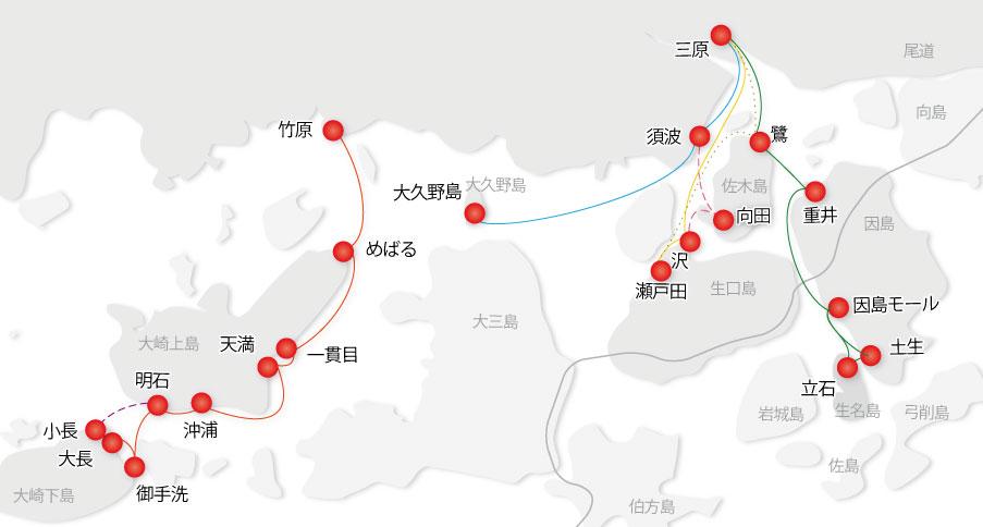 乗船場マップ