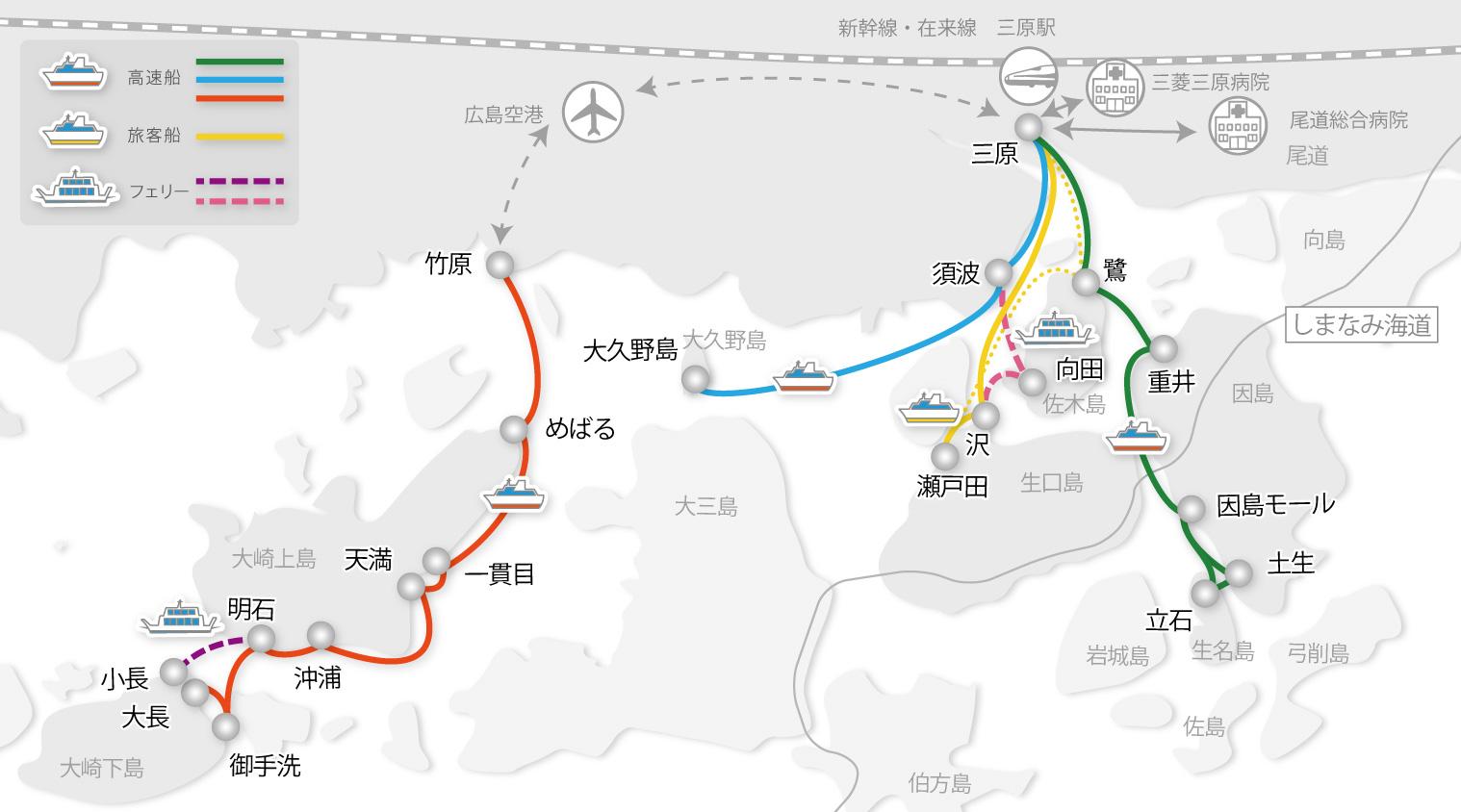 運航マップ